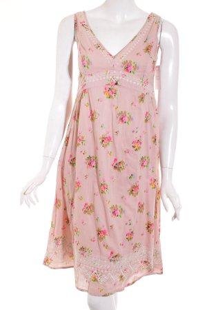 Noa Noa A-Linien Kleid florales Muster Hippie-Look