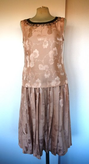 Noa Noa Midi Dress nude silk
