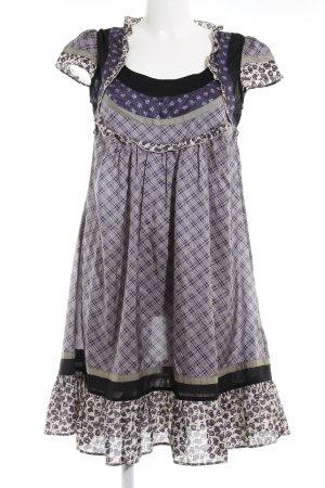 Noa Noa Babydoll-jurk Patroon-mengeling romantische stijl