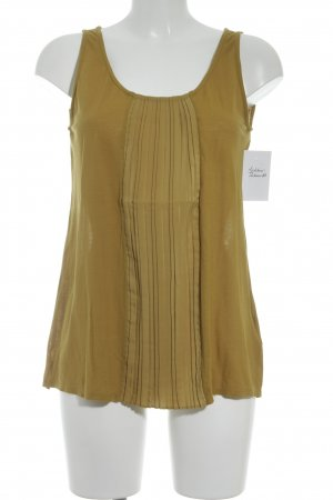 Noa Noa Top basic giallo scuro stile casual