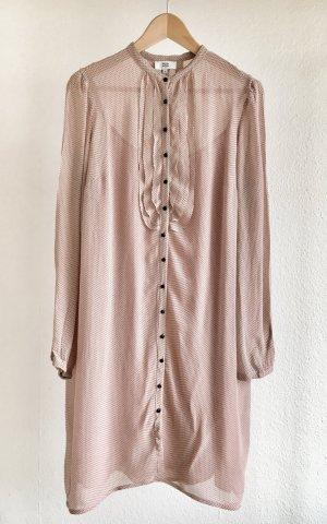 Noa Noa Blusenkleid rosé mit schwarzen Punkten