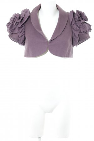 Noa Noa Bolero lila Business-Look