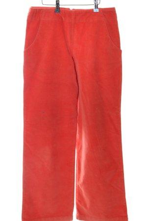 Noa Noa Pantalón de pana rojo look casual