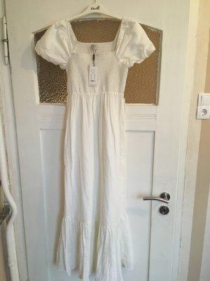 Noa Noa Robe empire blanc coton