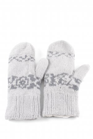 Noa Noa Mittens light grey abstract pattern casual look