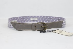 Noa Noa Fabric Belt grey brown-lilac mixture fibre