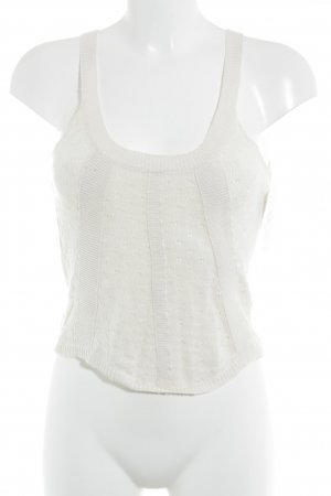 Noa Noa Crochet Top natural white casual look