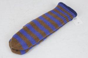 Noa Noa Mittens blue-bronze-colored mixture fibre