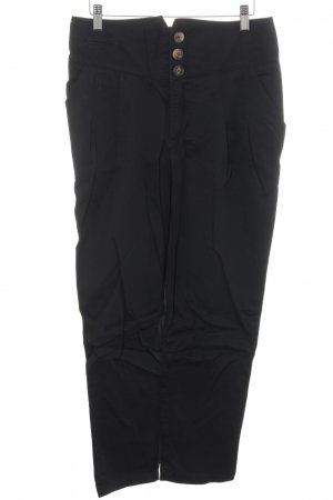 Noa Noa High-Waist Hose schwarz Casual-Look