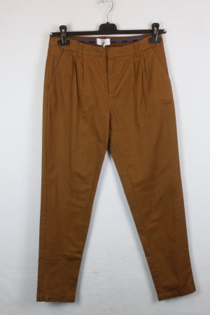 Noa Noa Boyfriend Trousers cognac-coloured cotton