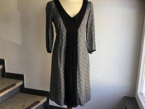 NOA NOA Kleid in schwarz/grau, ¾ Arm, Gr. S, NEU.