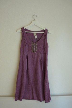 NOA NOA Kleid S 36 38 *NEU* 100% Seide lila verziert süß Fashion Blogger Designermode
