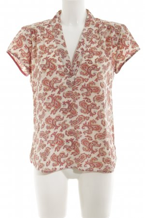 Noa Noa Short Sleeved Blouse abstract pattern casual look