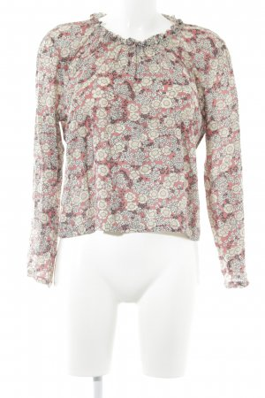 Noa Noa Langarm-Bluse florales Muster Casual-Look