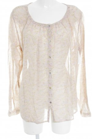 Noa Noa Langarm-Bluse florales Muster Country-Look