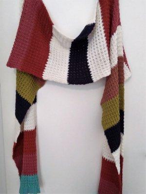 Noa Noa Écharpe en tricot multicolore coton