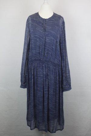 NOA NOA Longsleeve Kleid Gr. L blau