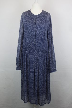 NOA NOA Longsleeve Kleid Gr. S blau Neu mit Etikett