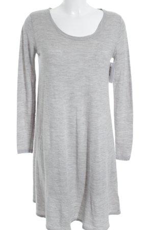Noa Noa Abito maglione grigio chiaro puntinato stile casual