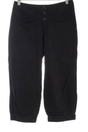 Noa Noa Pantalon large noir style décontracté