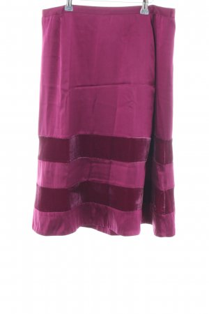 Noa Noa Silk Skirt pink casual look