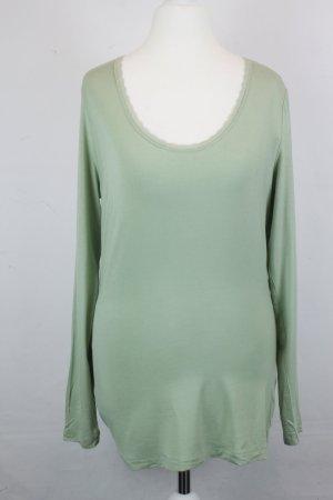 NOA NOA Shirt Longsleeve Gr. XL hellgrün NEU