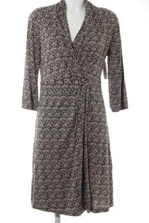 Noa Noa Shirtkleid beige-schwarz florales Muster extravaganter Stil