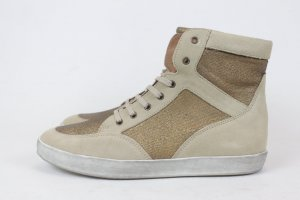 NOA NOA Sneaker Schnürrschuhe High Top Gr. 41 GOLD NEU (18/3/MF/R)