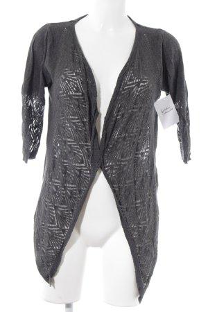 Noa Noa Bolero lavorato a maglia grigio Motivo a maglia leggera stile casual