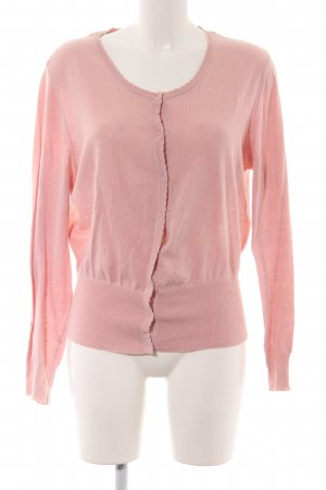 Noa Noa Strickjacke pink Casual-Look