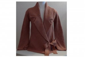 Noa Noa Strickjacke zum Binden in Gr. XS