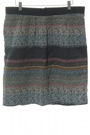 Noa Noa Knitted Skirt abstract pattern