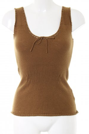 Noa Noa Knitted Top bronze-colored casual look