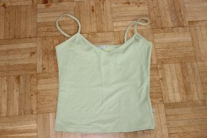 Noa Noa Basic Top pale green cotton