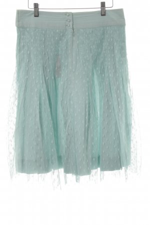 Noa Noa Tule rok lichtblauw-lichtblauw gestippeld patroon casual uitstraling