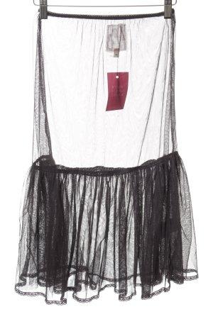 Noa Noa Tulle Skirt black transparent look