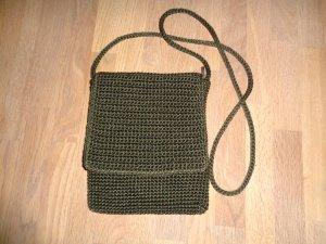 Noa Noa Mini Bag khaki textile fiber