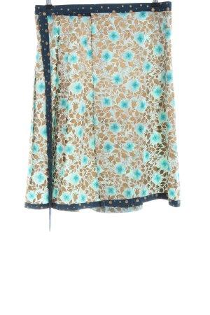 Noa Noa Wraparound Skirt flower pattern casual look