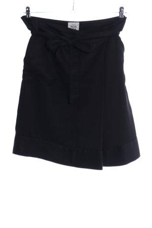 Noa Noa Wraparound Skirt black casual look
