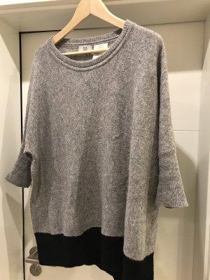 Noa Noa Oversized Sweater black-silver-colored