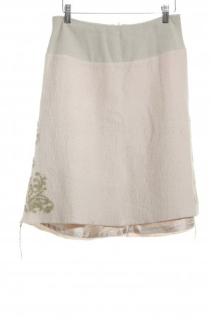 Noa Noa Wool Skirt floral pattern casual look