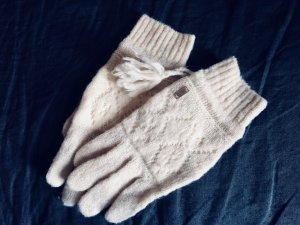 Noa Noa Gloves natural white