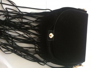H&M Divided Fringed Bag black-dark yellow others