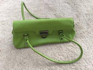 NOCHMALS REDUZIERT - Grüne Lederhandtasche von Marc Picard