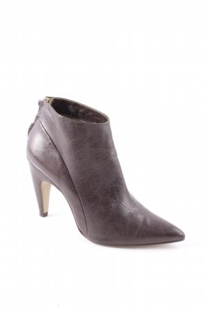 Noe Ankle Boots dark green-gold-colored elegant