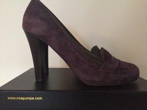 Noë High Heels 10 cm violett, Größe 41
