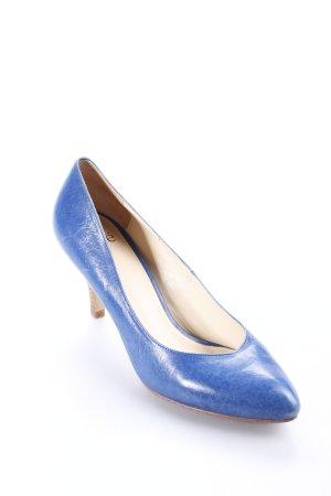 Noe High Heels blau Eleganz-Look