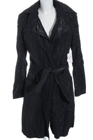 Noir Cappotto mezza stagione nero stile casual