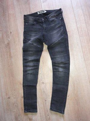 noisy may biker jeans gr. 28 = 38