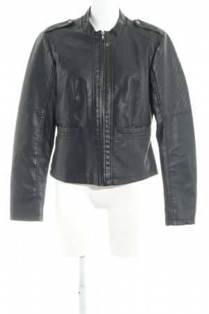 Noisy May Veste motard noir Look de motard